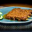 Maleisische Sate 2 stokjes / Malaysian Sate 2pcs / 馬來西亞沙嗲2串