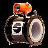 Sparling flowmeter field service background image.