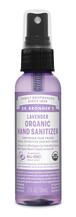 Eco Organic Hand Sanitizer (59ml)