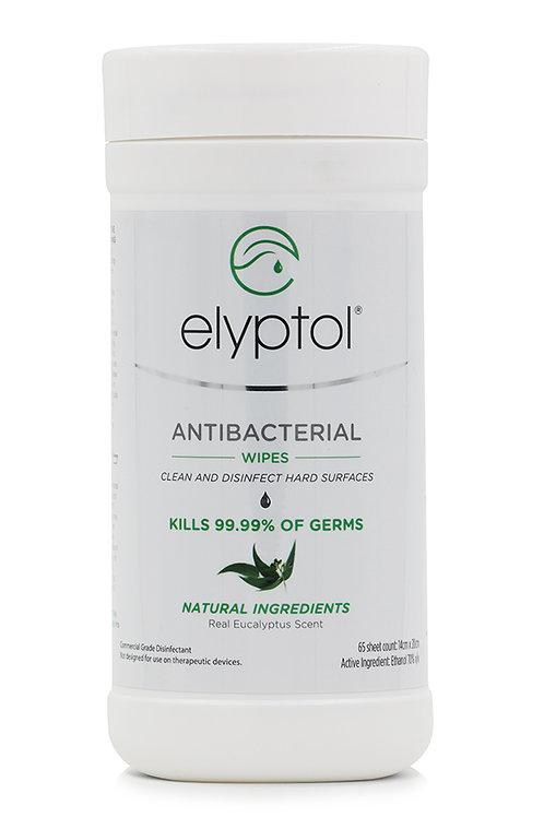 Eco Antibacterial Hard Surface Wipes (65pcs)