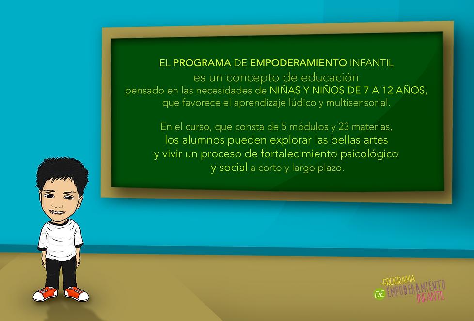 Programa de empoderamiento infantil