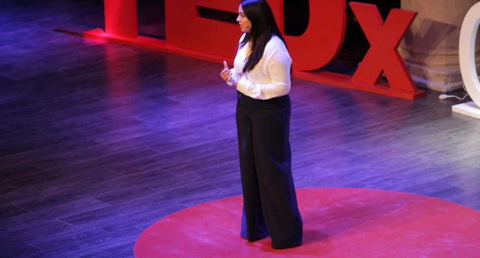 Donde nadie quiere estar Alondra Berber TEDxCiudadDePuebla
