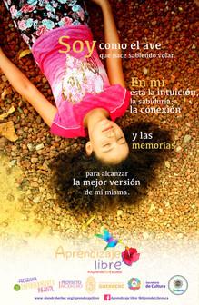 Ayari Manjarrez, creadora de la campaña Aprendizaje Libre