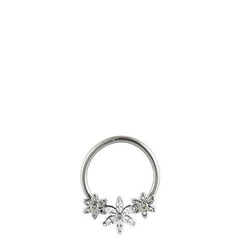 Flower Nipple Ring