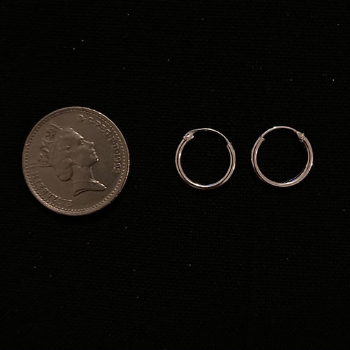 Small top hinged hoops