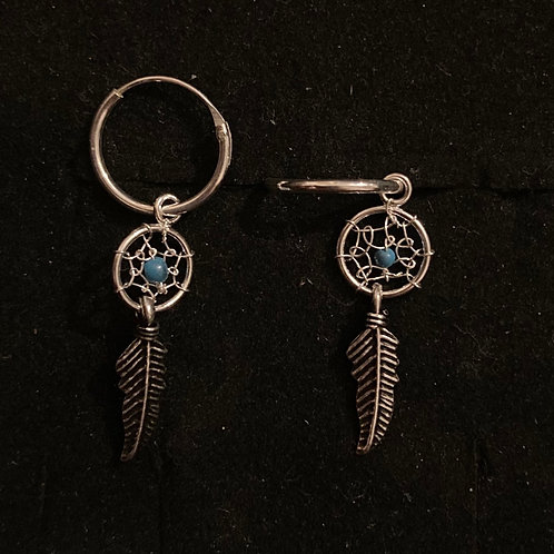 Dream catcher hoops