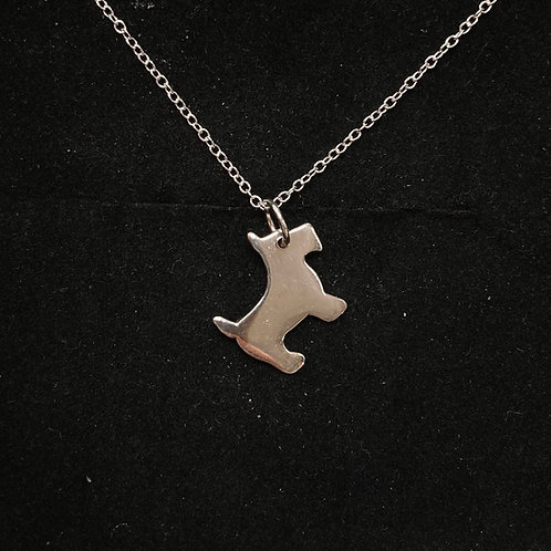 Scotty dog necklace