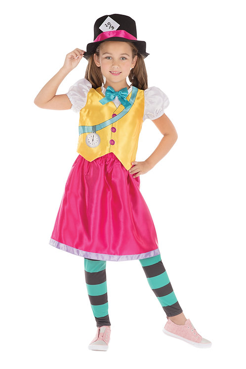 Mad Hatter Girl Costume