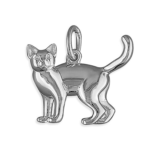Solid Cat Pendant