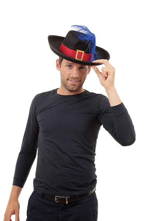 Musketeer Feather Hat