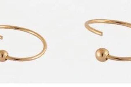Rose Gold Nose Ring