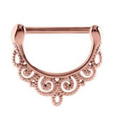 Rose Gold Ornate Nipple Clicker