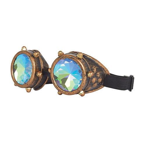 Steampunk Kaleidoscope Glasses