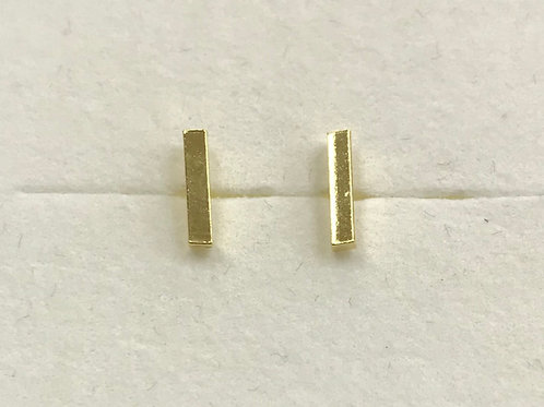 Gold Plated Bar Studs