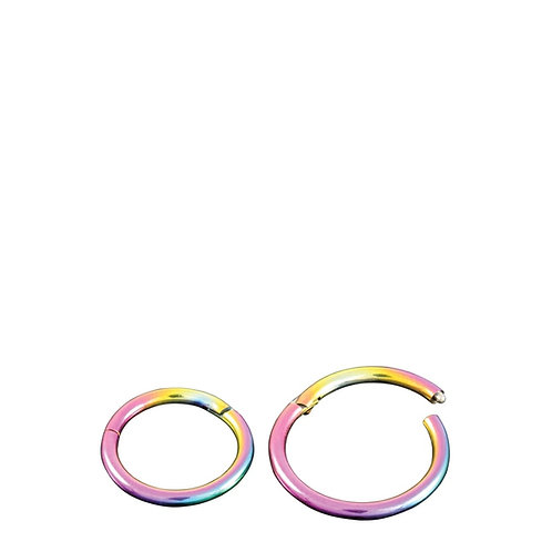 Rainbow Hinged Segment Ring