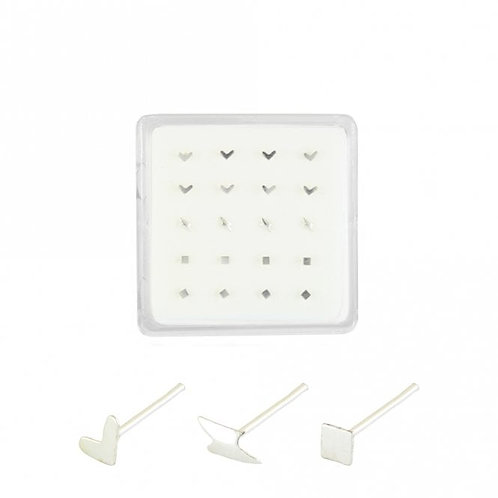 Shaped Nose Studs