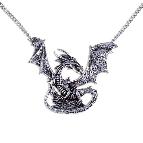 Rock Dragon Necklace