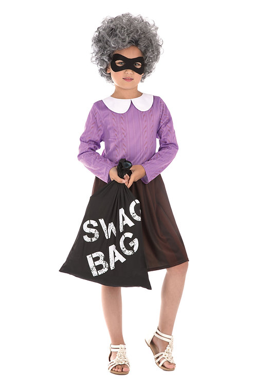 Burglar Granny Costume