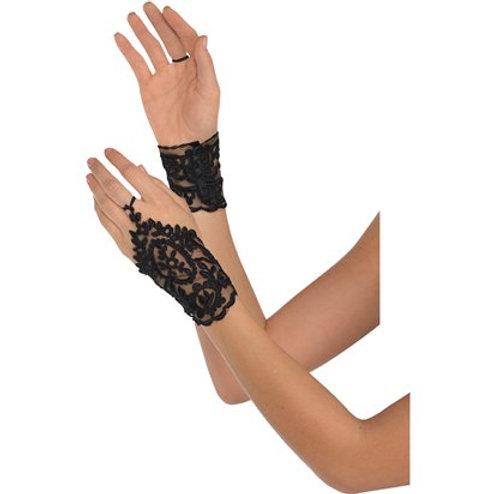 Black Lace Glovettes