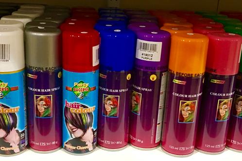 Coloured Hair Spray