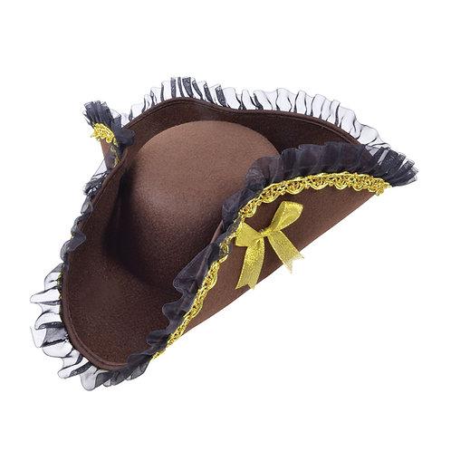 Female Pirate Tricorn Hat