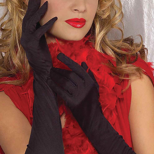 Long Ruched Gloves