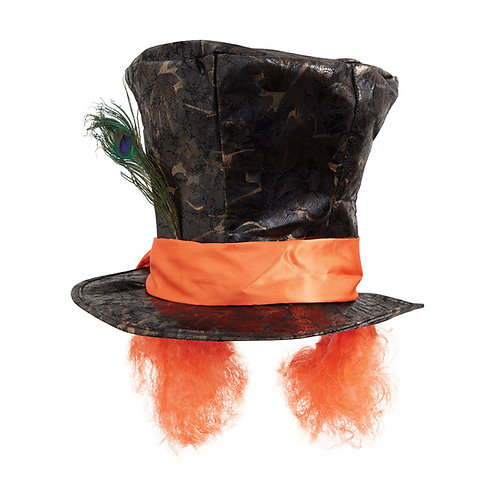 Mad Hatter with Hair Hat