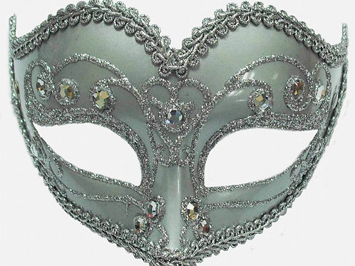 Silver Gem Mask