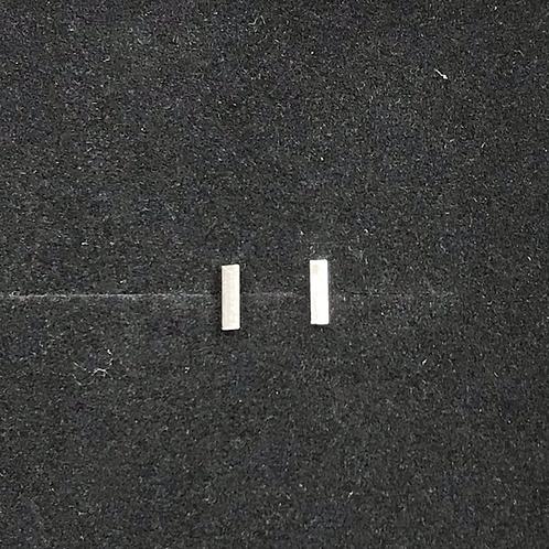 5mm Silver Bar Studs