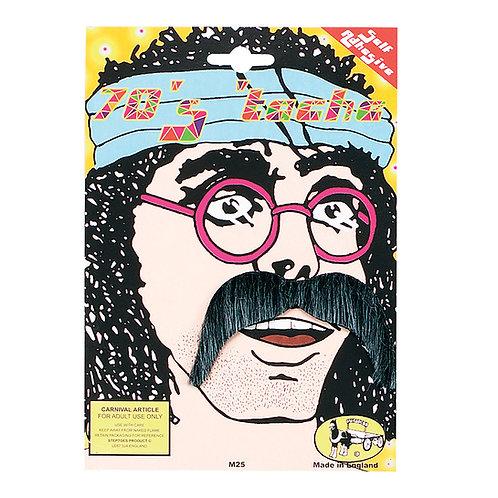 1970's Grey Moustache