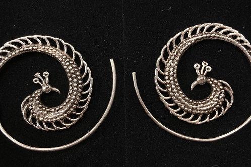 Silver spirals
