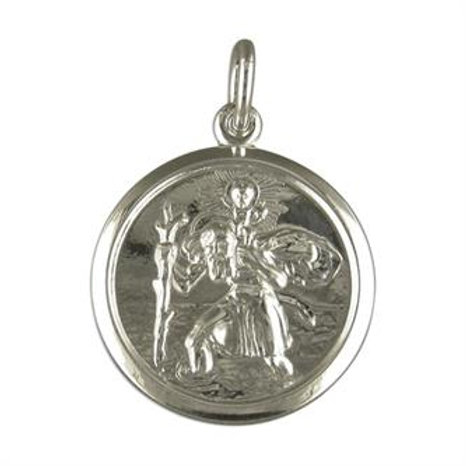 Double Sided St.Christopher Pendant