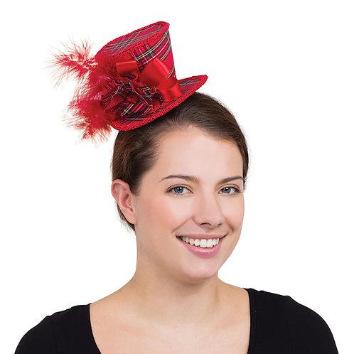 Tartan Mini Top Hat