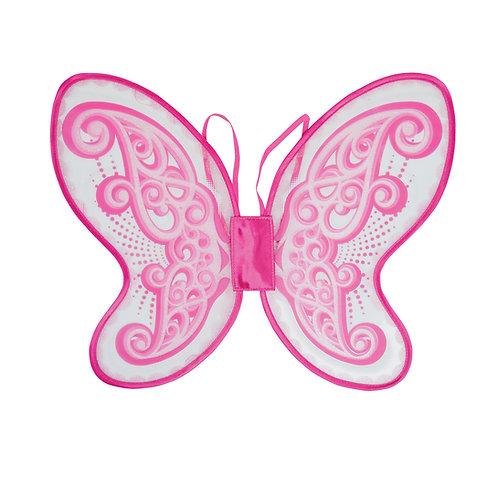 Pink Plastic Butterfly Wings