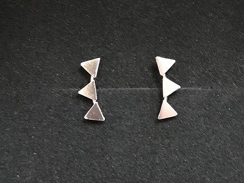 Triangle Ear Crawler Studs