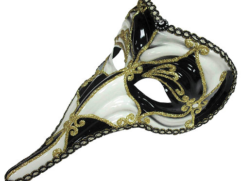 Loki Black/White Mask