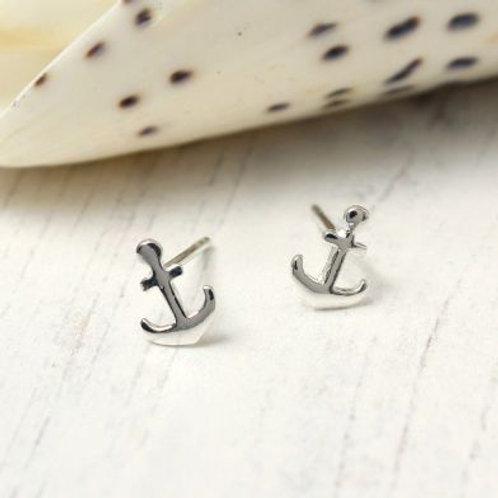 Silver Anchor Studs