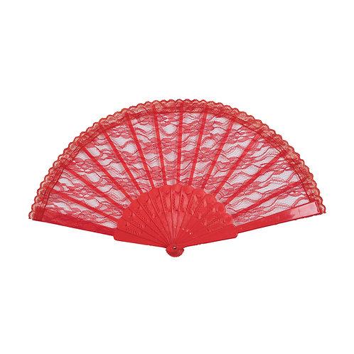 Lace Fan- 1920s, flapper style