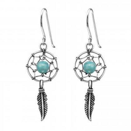 Turquoise Dream Catcher Drops