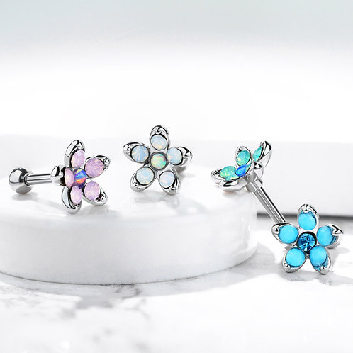 Opalite Flower Barbells