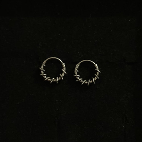 Spring coil hoops