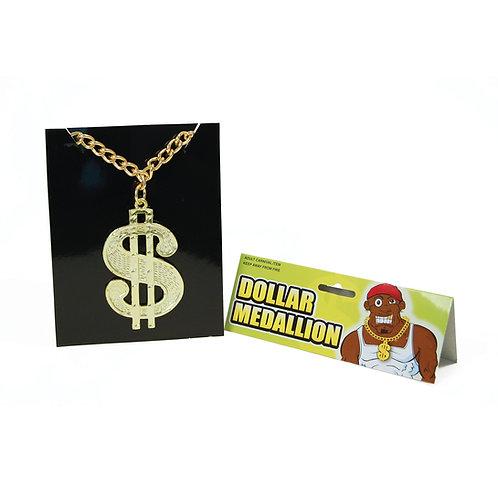 Dollar Medallion on a Chain