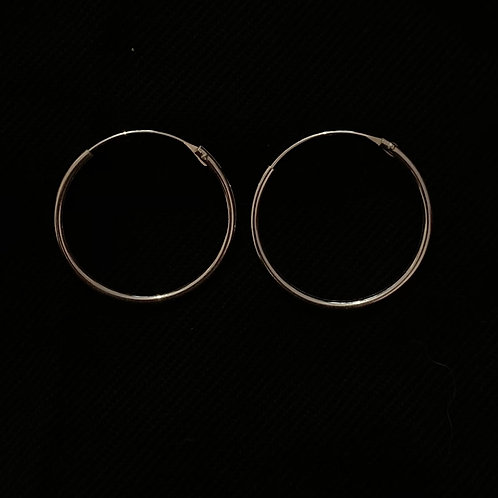 Top hinged hoops