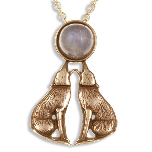 Baying Wolves Necklace