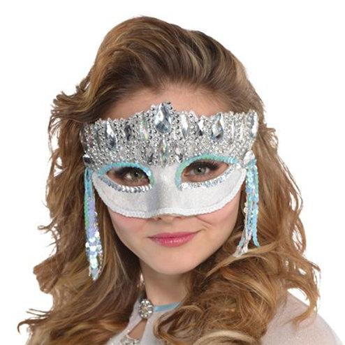 Crystal Sparkle Masquerade Mask