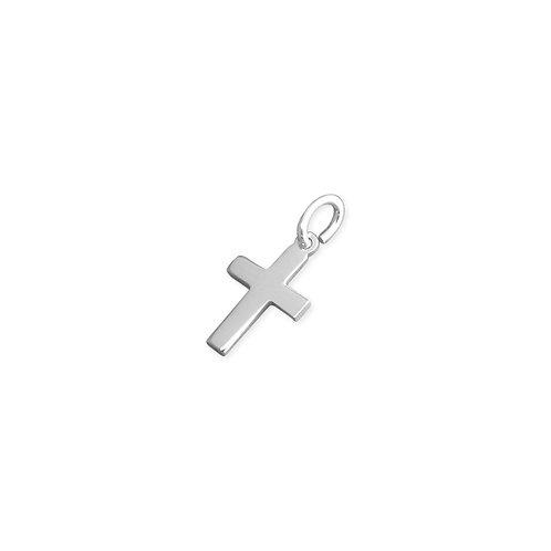 Small Plain Cross Pendant