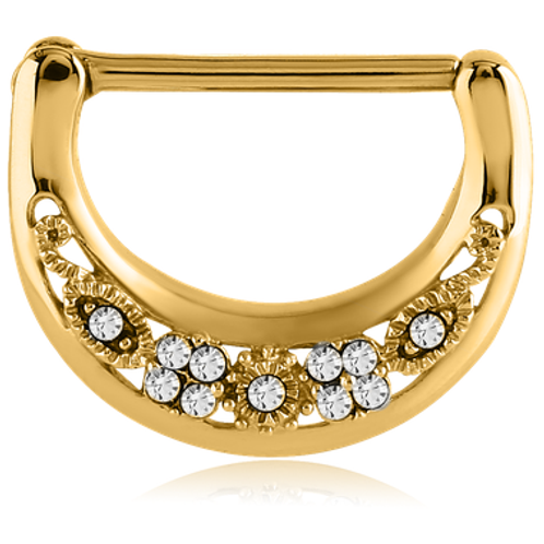 Gold Jewelled Clicker