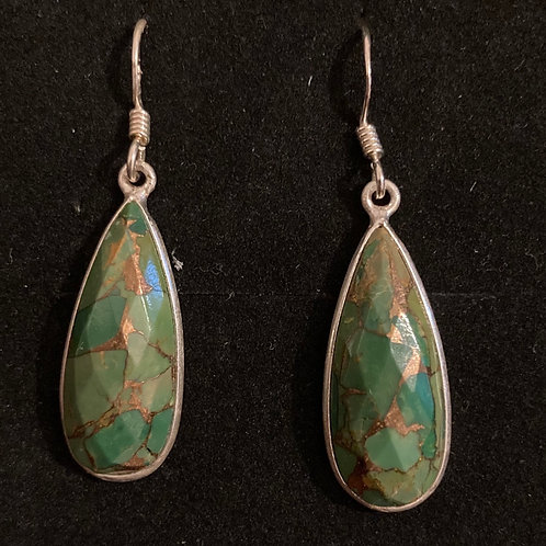 Fancy Mohave turquoise drops