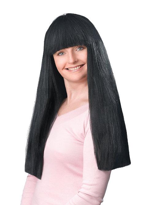 """Black 24"""" fringe wig"""