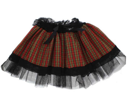 Black and Tartan Tutu